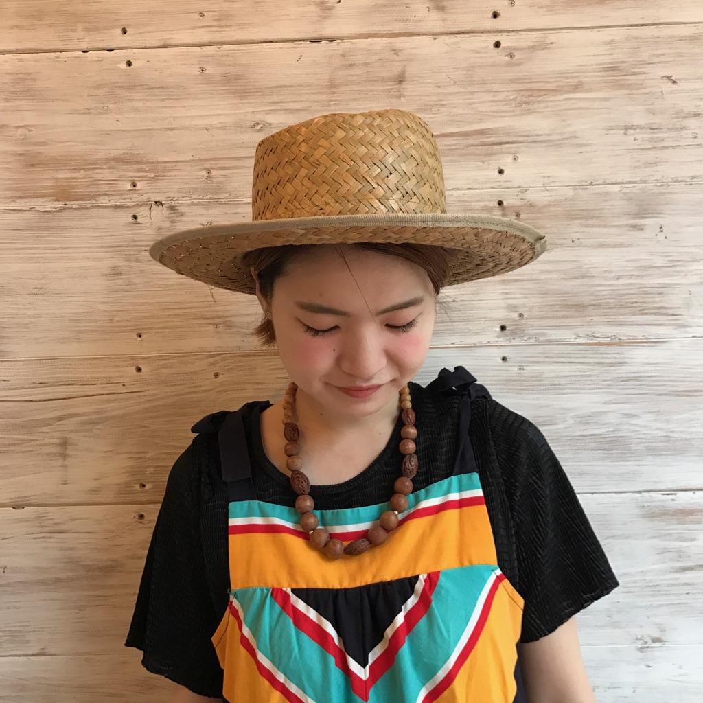 ストローハット 麦わら帽子