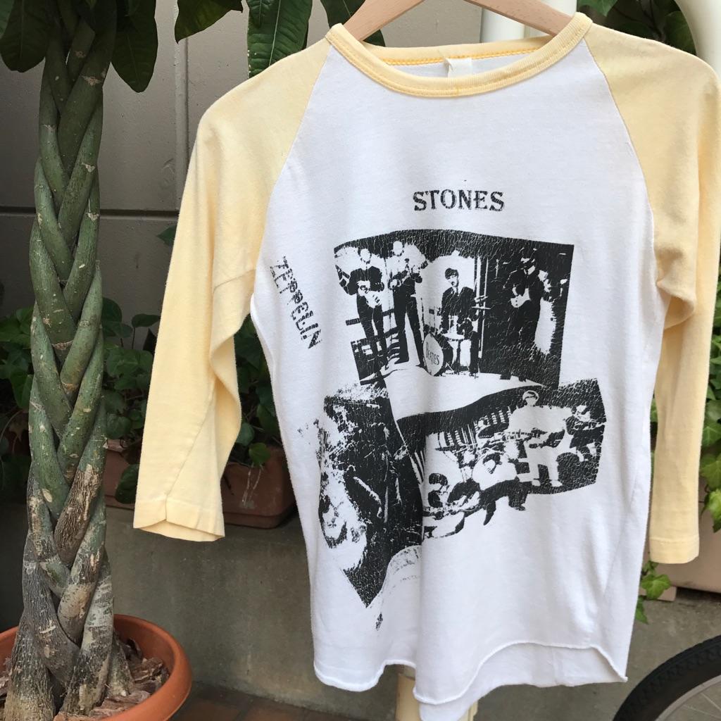 ラグラン バンドTシャツ