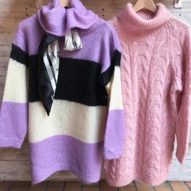 モヘア セーター
